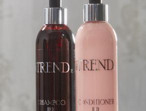 TinasTrend Schampo & Balsam som förstärker rött hår